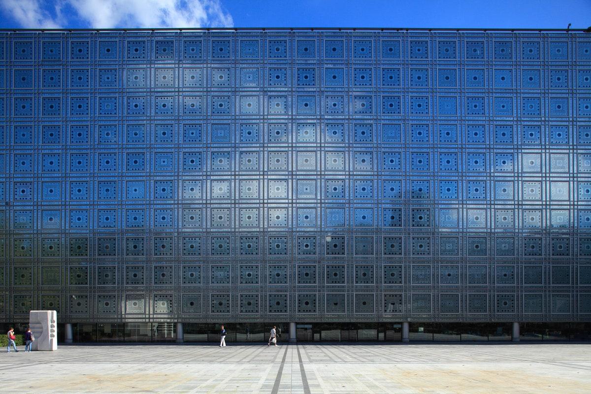 Fachada Instituto del mundo Árabe de Jean Nouvel