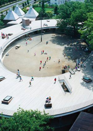 Edificio Fuji kindergarten de Tezuka