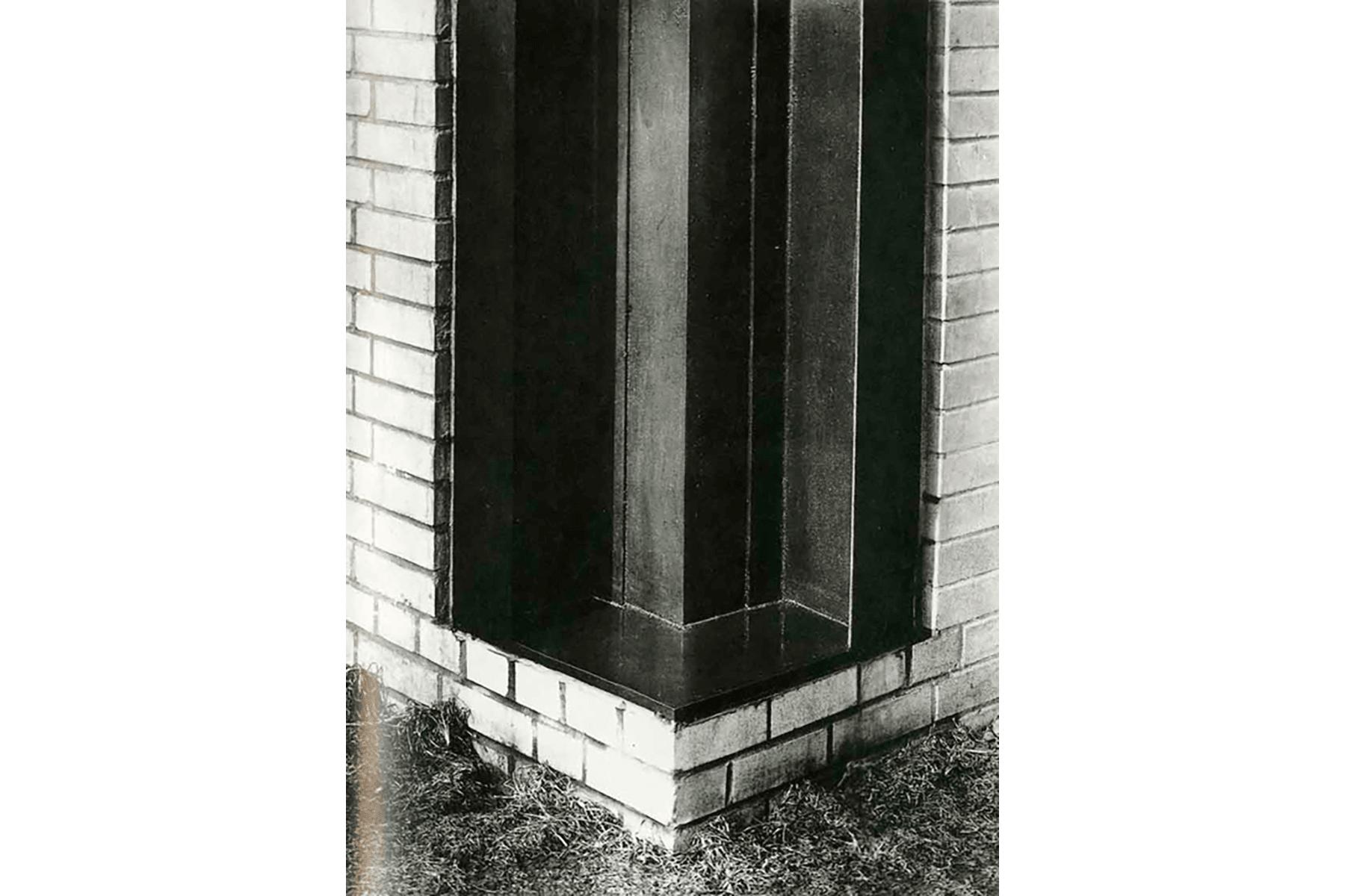Encuntro en esquina de Mies van der Rohe