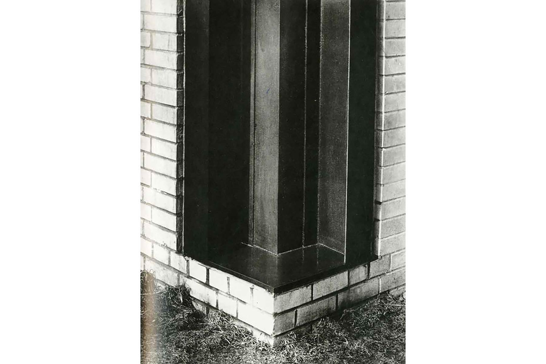 Encuntro en esquina del IIT de Mies van der Rohe