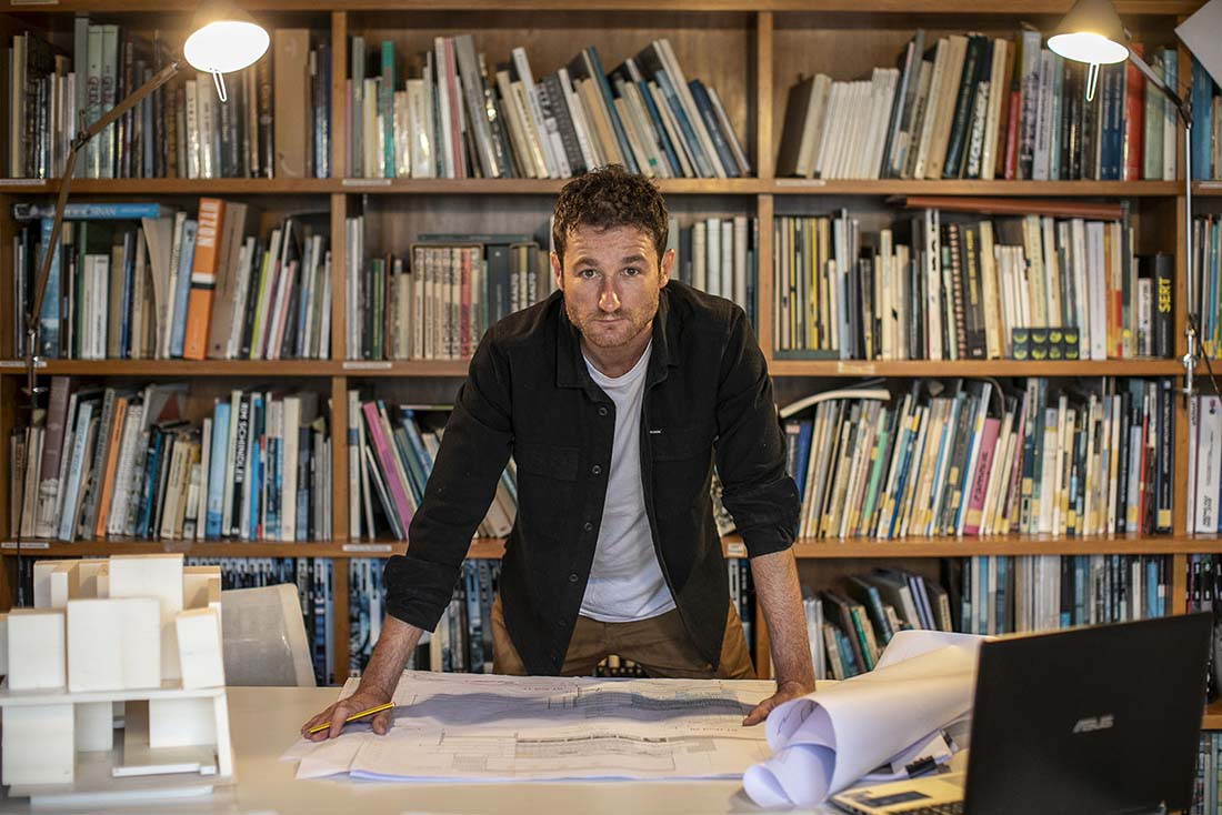 Nil Brullet en el estudio